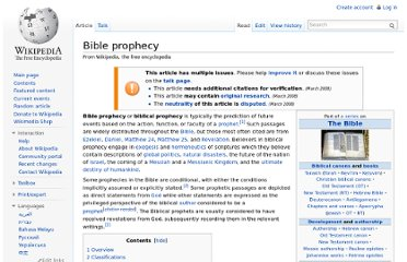http://en.wikipedia.org/wiki/Bible_prophecy