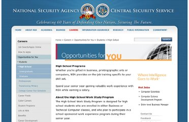 http://www.nsa.gov/careers/opportunities_4_u/students/high_school/work_study.shtml