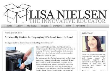 http://theinnovativeeducator.blogspot.com/2012/06/friendly-guide-to-deploying-ipads-at.html