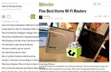 http://lifehacker.com/5920709/five-best-home-wi+fi-routers