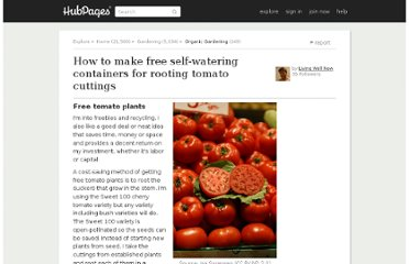 http://livingwellnow.hubpages.com/hub/How-to-Make-Free-Self-Watering-Container-for-Rooting-Tomato-Cuttings