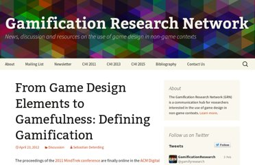 http://gamification-research.org/2012/04/defining-gamification/