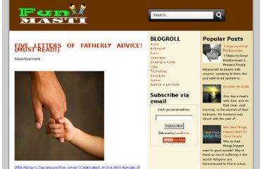 http://informative.funwithnet.com/2012/06/five-letters-of-fatherly-advice-must.html