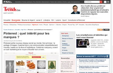 http://trends.levif.be/economie/actualite/high-tech/pinterest-quel-interet-pour-les-marques/article-4000120520189.htm
