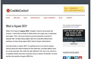 http://crediblecontent.net/what-is-organic-seo/
