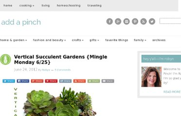 http://addapinch.com/living/2012/06/24/vertical-succulent-gardens-how-to/