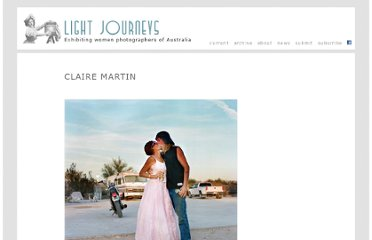 http://lightjourneys.net.au/artists/claire-martin/