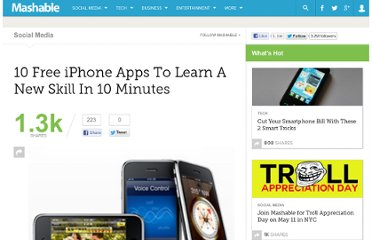 http://mashable.com/2010/05/09/iphone-apps-learn/