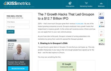 http://blog.kissmetrics.com/7-groupon-growth-hacks/