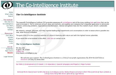 http://co-intelligence.org/CII-1.html