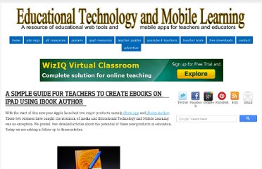 http://www.educatorstechnology.com/2012/06/simple-guide-for-teachers-to-create.html