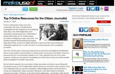 http://www.makeuseof.com/tag/top-5-online-resources-for-the-citizen-journalist/