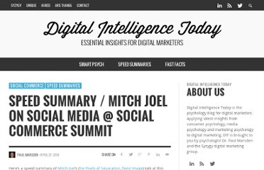 http://socialcommercetoday.com/speed-summary-mitch-joel-on-social-media-social-commerce-summit/