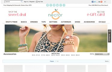 http://www.nectarclothing.com/categories/Accessories?sort=newest