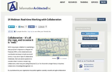 http://www.informationarchitected.com/blog/ia-webinar-real-time-collaboration/