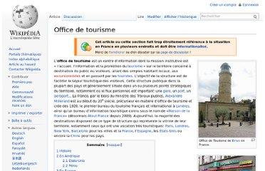 Cadre juridique de l 39 organisation touristique pearltrees - Declaration en mairie des meubles de tourisme ...