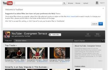 http://www.youtube.com/artist/evergreen_terrace