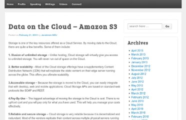 http://www.janakiramm.net/blog/data-on-the-cloud-amazon-s3