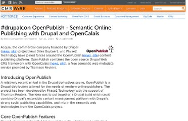 http://www.cmswire.com/cms/web-cms/drupalcon-openpublish-semantic-online-publishing-with-drupal-and-opencalais-007296.php