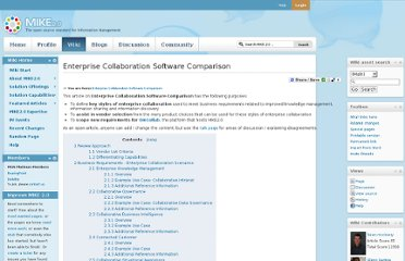http://mike2.openmethodology.org/wiki/Enterprise_Collaboration_Software_Comparison