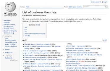 http://en.wikipedia.org/wiki/List_of_business_theorists