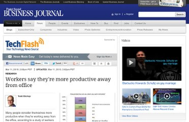 http://www.bizjournals.com/seattle/blog/techflash/2010/03/study_workers_say_theyre_more_productive_away_from_office.html?ana=lnk