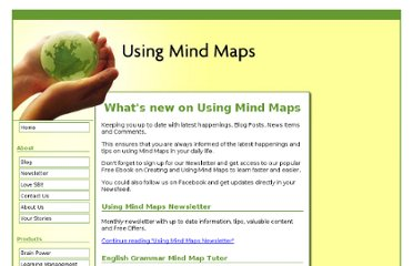 http://www.usingmindmaps.com/using-mind-maps-blog.html