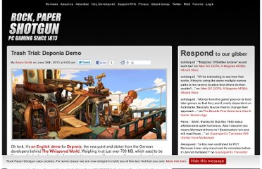 http://www.rockpapershotgun.com/2012/06/26/trash-trial-deponia-demo/