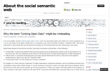 http://ablvienna.wordpress.com/2009/10/08/why-the-term-linking-open-data-might-be-misleading/