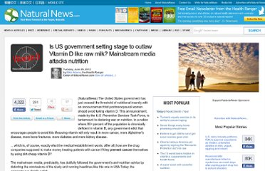 http://www.naturalnews.com/036303_vitamin_D_outlawed_nutrition.html