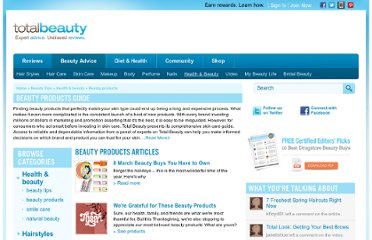 http://www.totalbeauty.com/how-tos/health-and-beauty/beauty-products