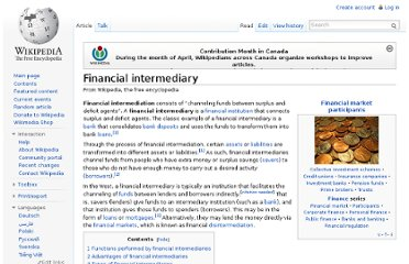 http://en.wikipedia.org/wiki/Financial_intermediary#Functions_performed_by_financial_intermediaries