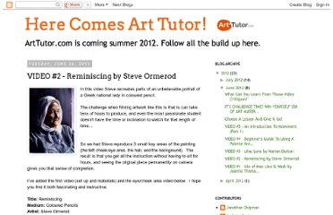 http://www.herecomesarttutor.com/2012/06/video-2-reminiscing-by-steve-ormerod.html