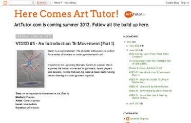 http://www.herecomesarttutor.com/2012/06/video-5-introduction-to-movement-part-1.html