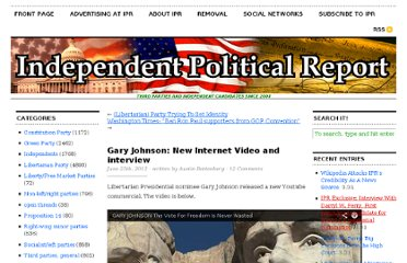 http://www.independentpoliticalreport.com/2012/06/gary-johnson-the-vote-for-freedom-is-never-wasted-new-video/