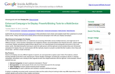 http://adwords.blogspot.com/search/label/Display%20Ads