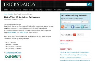 http://www.tricksdaddy.com/2009/05/list-of-top-10-antivirus-softwares.html