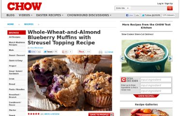http://www.chow.com/recipes/30389-whole-wheat-and-almond-blueberry-muffins-with-streusel-topping