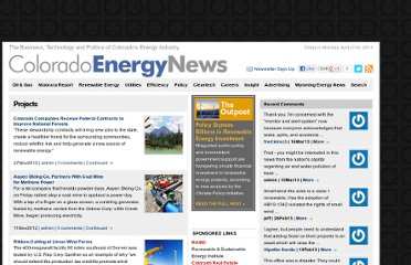 http://coloradoenergynews.com/category/renewables-energy/projects/