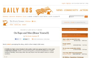 http://www.dailykos.com/story/2009/10/27/797548/-On-Rape-and-Men-Brace-Yourself