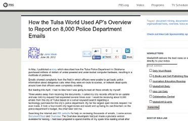 http://www.pbs.org/idealab/2012/06/how-the-tulsa-world-used-aps-overview-to-report-on-8000-police-department-emails177.html