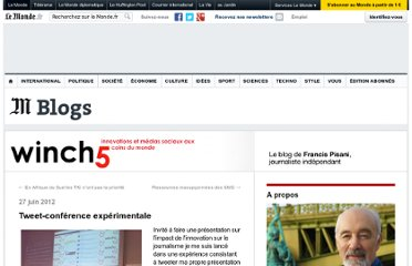 http://winch5.blog.lemonde.fr/2012/06/27/tweet-conference-experimentale/