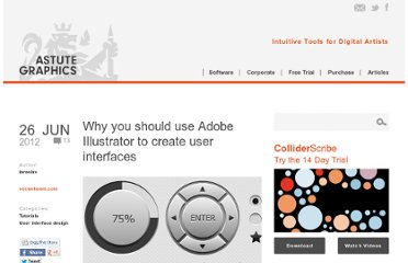 http://www.astutegraphics.com/blog/why-you-should-use-adobe-illustrator-to-create-user-interfaces/