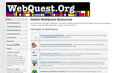 http://webquest.org/index-resources.php