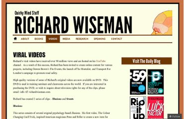 http://richardwiseman.wordpress.com/video-and-audio/