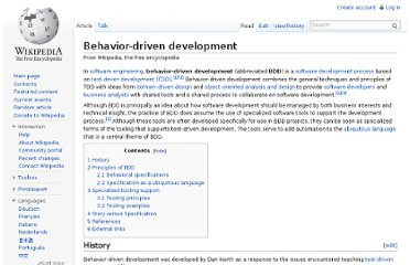 http://en.wikipedia.org/wiki/Behavior-driven_development