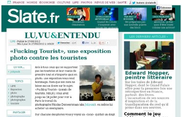 http://www.slate.fr/lien/58547/fucking-tourist-exposition-photo
