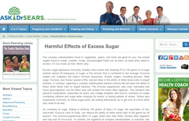 http://www.askdrsears.com/topics/family-nutrition/sugar/harmful-effects-excess-sugar