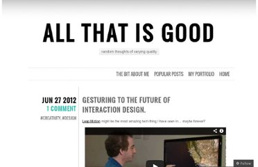 http://danielgoodall.com/2012/06/27/gesturing-to-the-future-of-interaction-design/