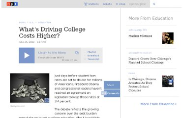 http://www.npr.org/2012/06/26/155766786/whats-driving-college-costs-higher